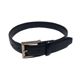 Aquarius LTD CLASSIC NAVY LEATHER BELT
