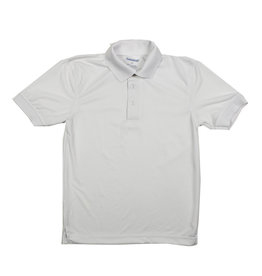 Elder Manufacturing Co. Inc. ELDER PERFORMANCE SHORT SLEEVE POLO WHITE