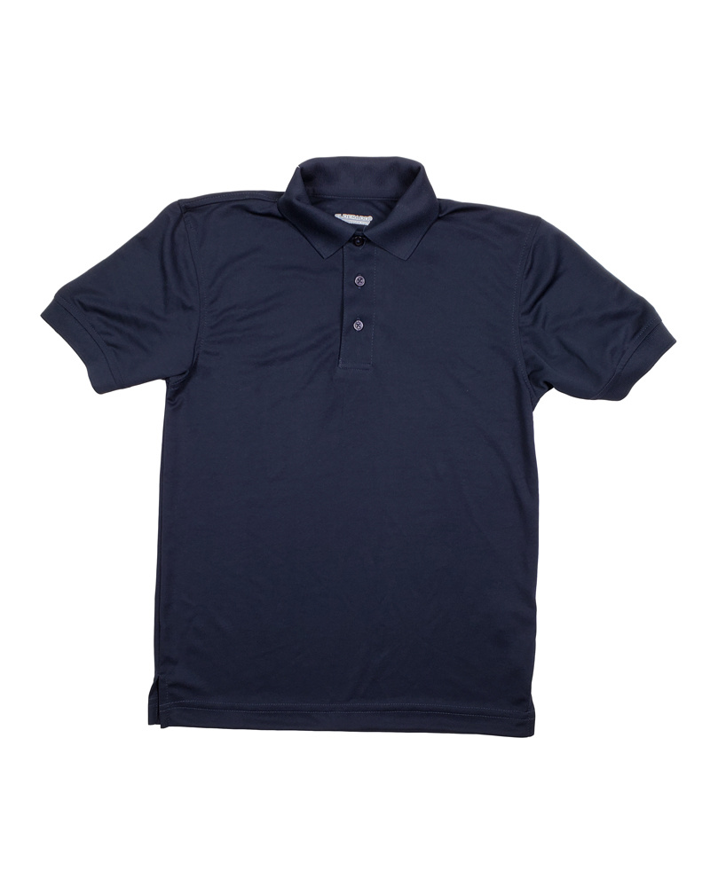 Elder Manufacturing Co. Inc. ELDER PERFORMANCE SHORT SLEEVE POLO NAVY