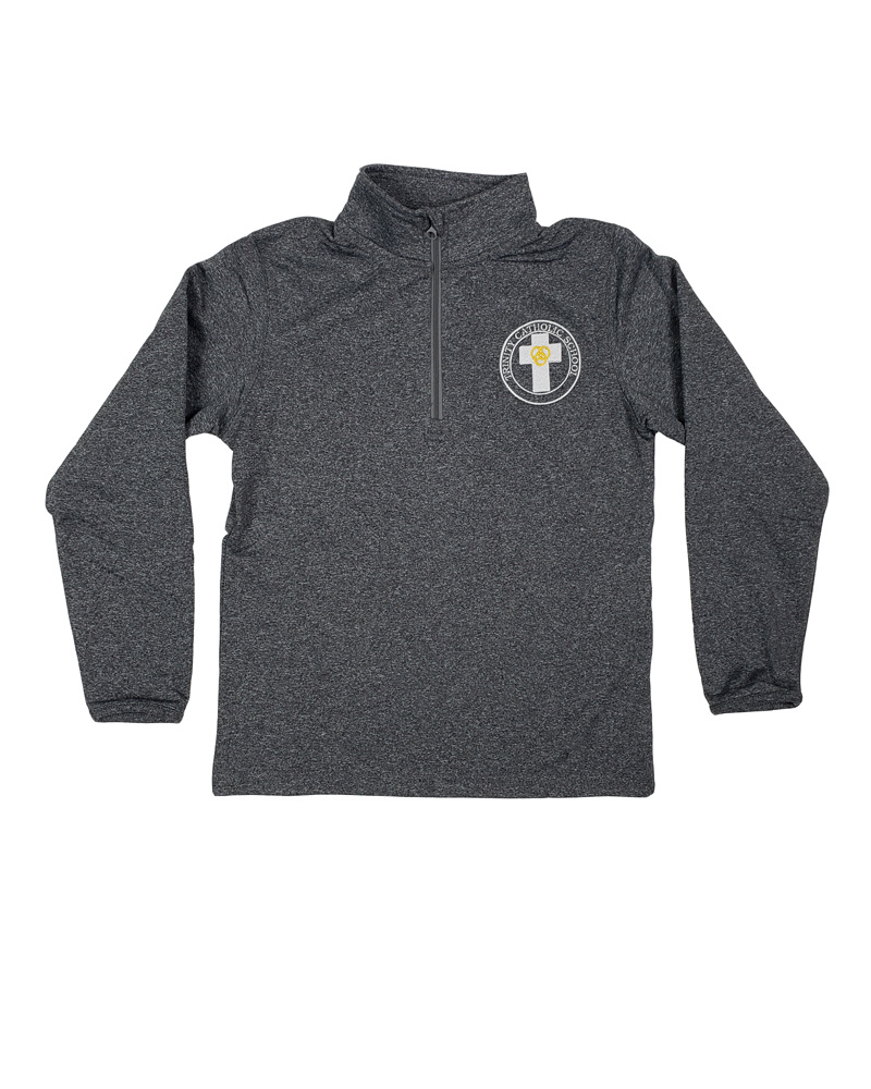Elder Manufacturing Co. Inc. TRINITY YOUTH/ADULT 1/4 ZIP DRY FIT PULLOVER
