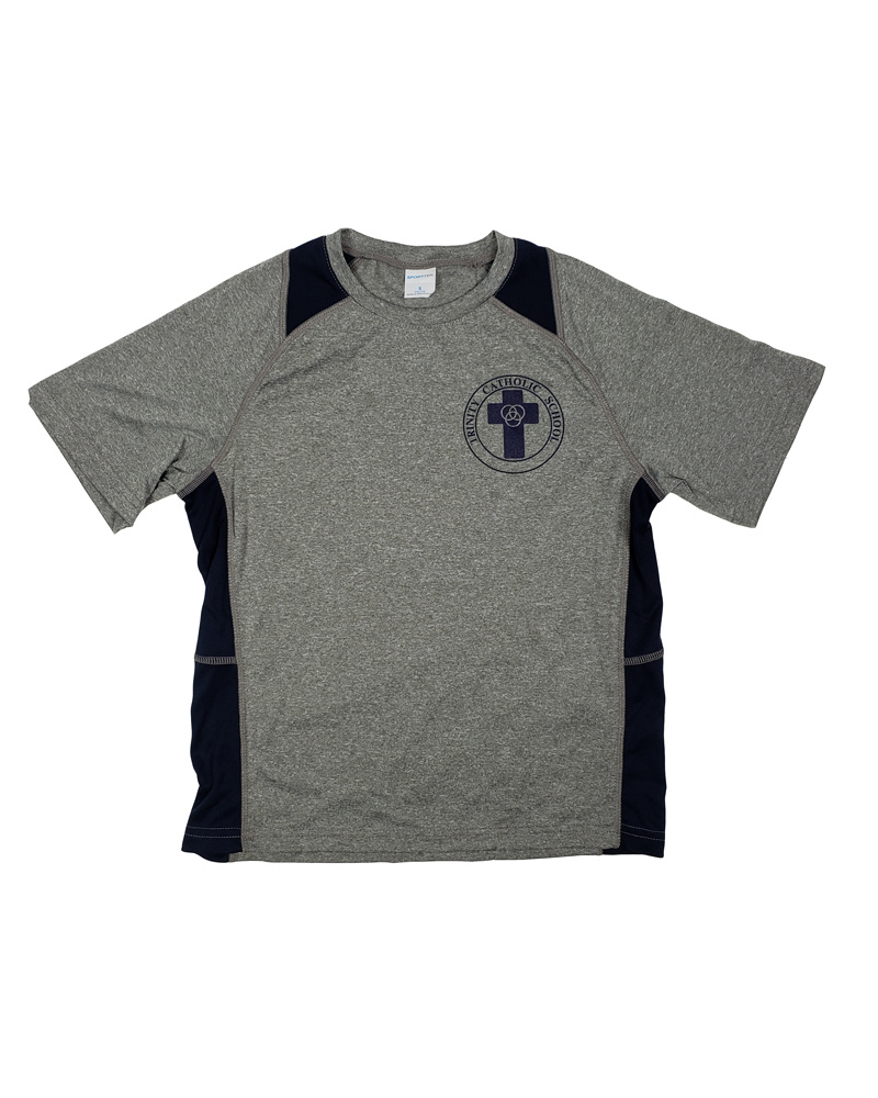 SanMar NEW!! TRINITY DRY FIT GYM T-SHIRT