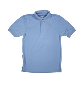 Elder Manufacturing Co. Inc. ELDER PERFORMANCE SHORT SLEEVE POLO LT. BLUE