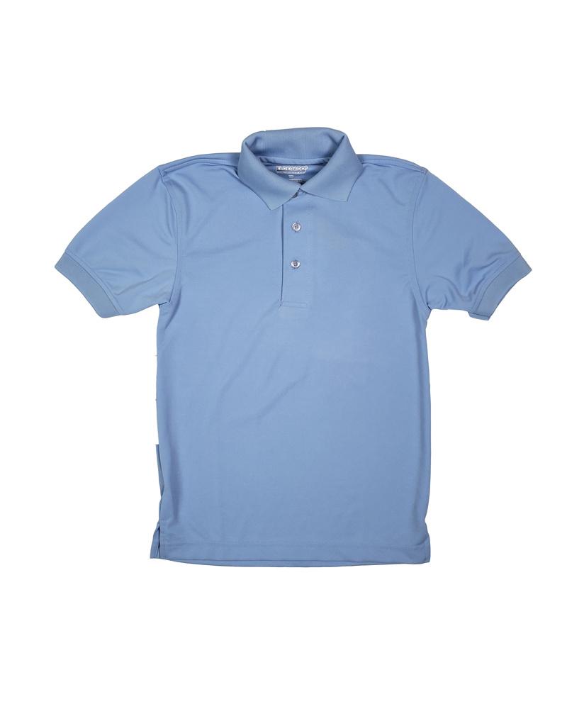 Elder Manufacturing Co. Inc. ELDER PERFORMANCE SHORT SLEEVE POLO LT. BLUE
