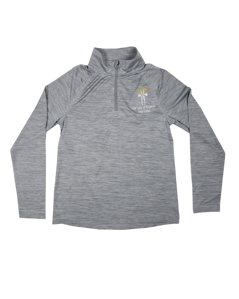Charles River Apparel OLPH YOUTH/ADULT SPACE DYE PULLOVER WITH LOGO