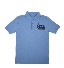 Classroom Uniforms Crossroads Christian Short Sleeve  Polo