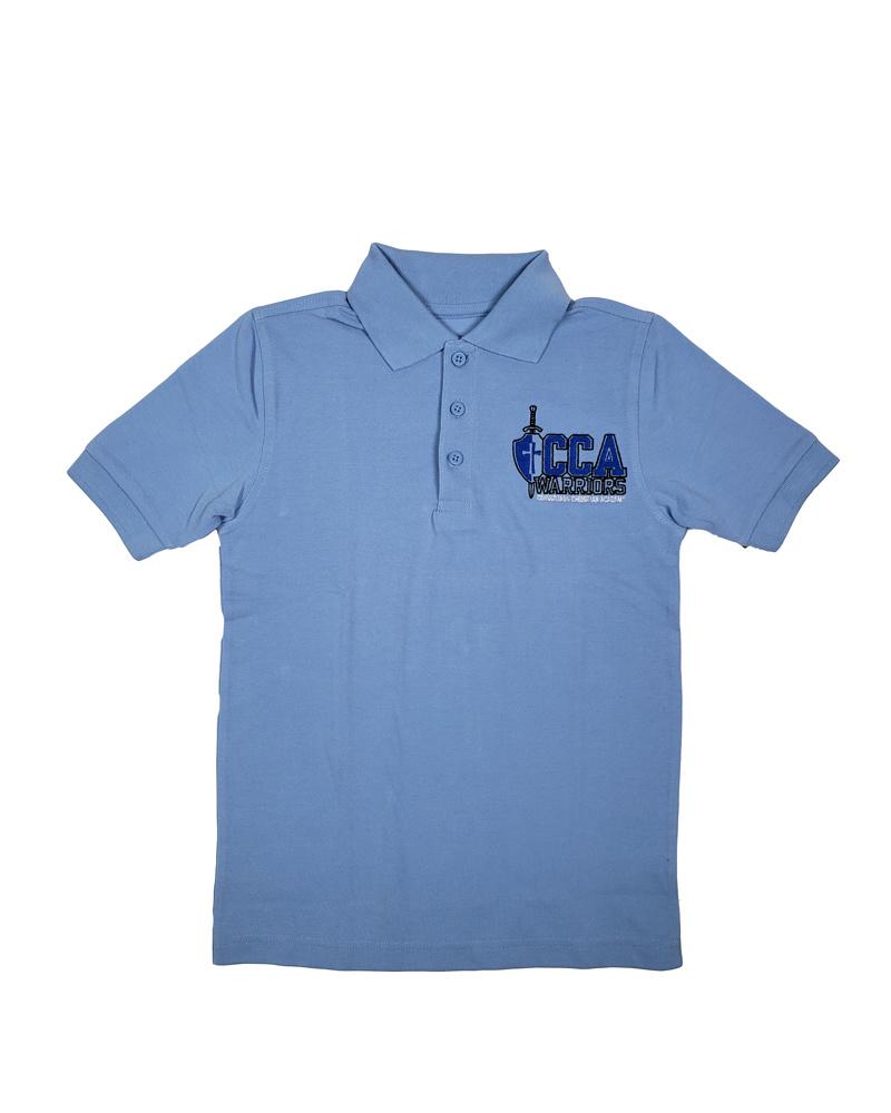 Classroom Uniforms Crossroads Christian Short Sleeve  Polo