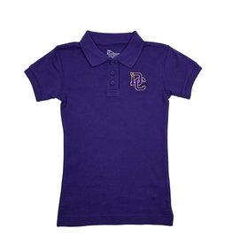Classroom Uniforms Dayton Christian Girls SS Polo - Purple