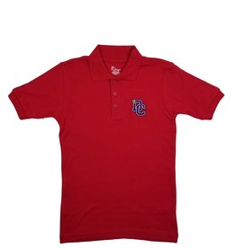 Classroom Uniforms Dayton Christian SS Polo - Red