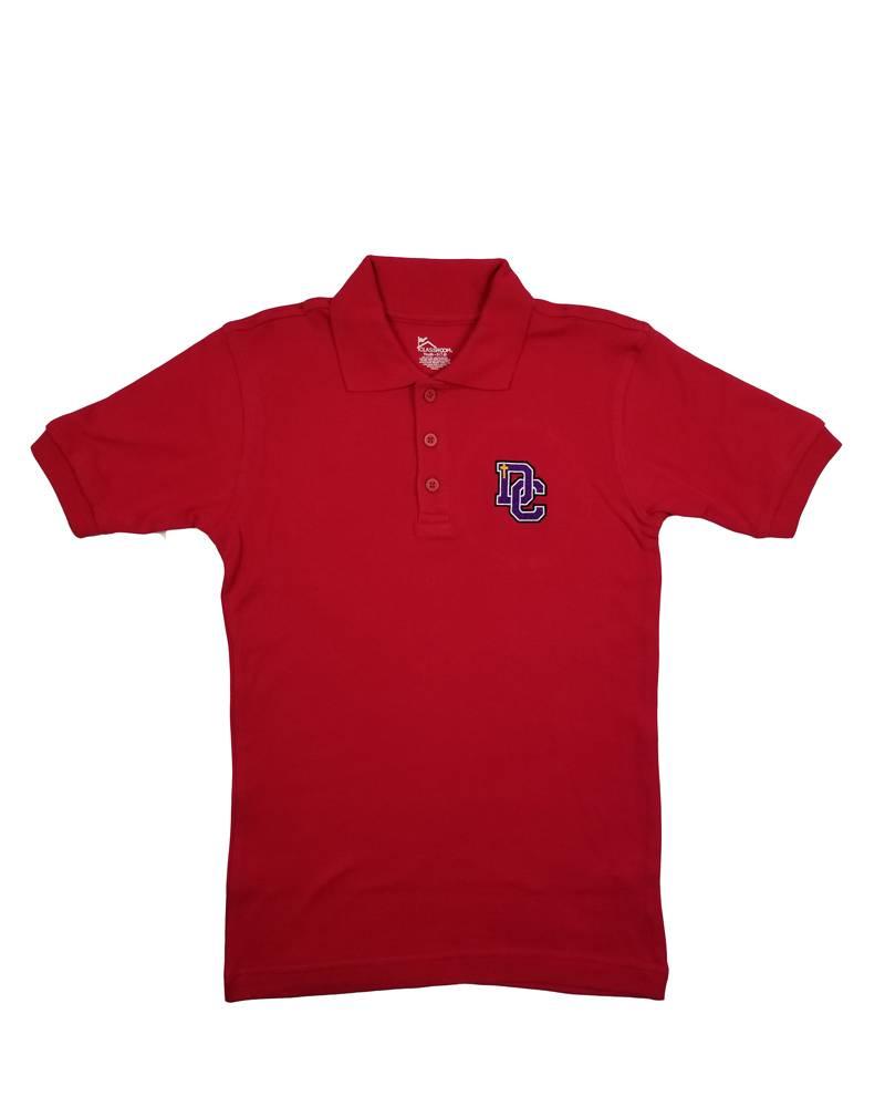 Classroom Uniforms Dayton Christian SS Polo - Red