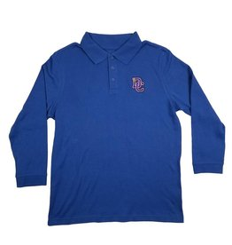Classroom Uniforms DAYTON CHRISTIAN LS POLO SHIRT - ROYAL
