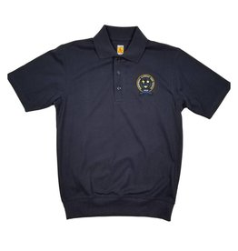 School Apparel, Inc. PARKERSBURG CATHOLIC SS BANDED BOTTOM POLO