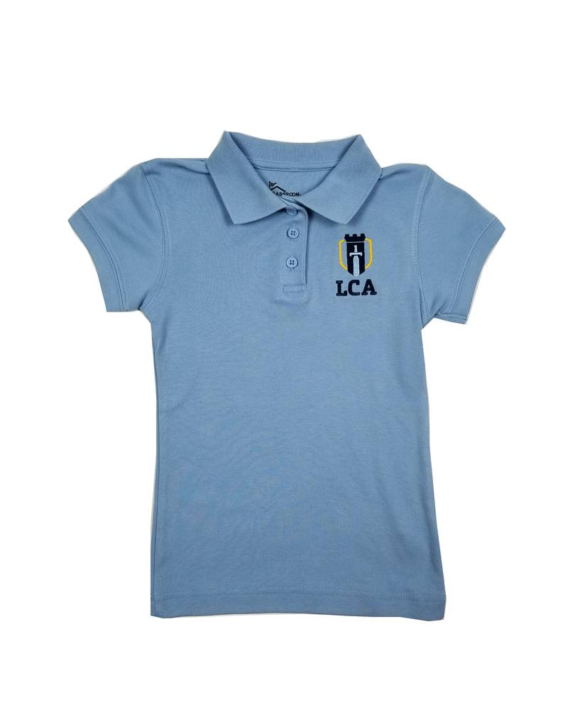 Classroom Uniforms LEGACY CHRISTIAN GIRLS SS POLO SHIRT
