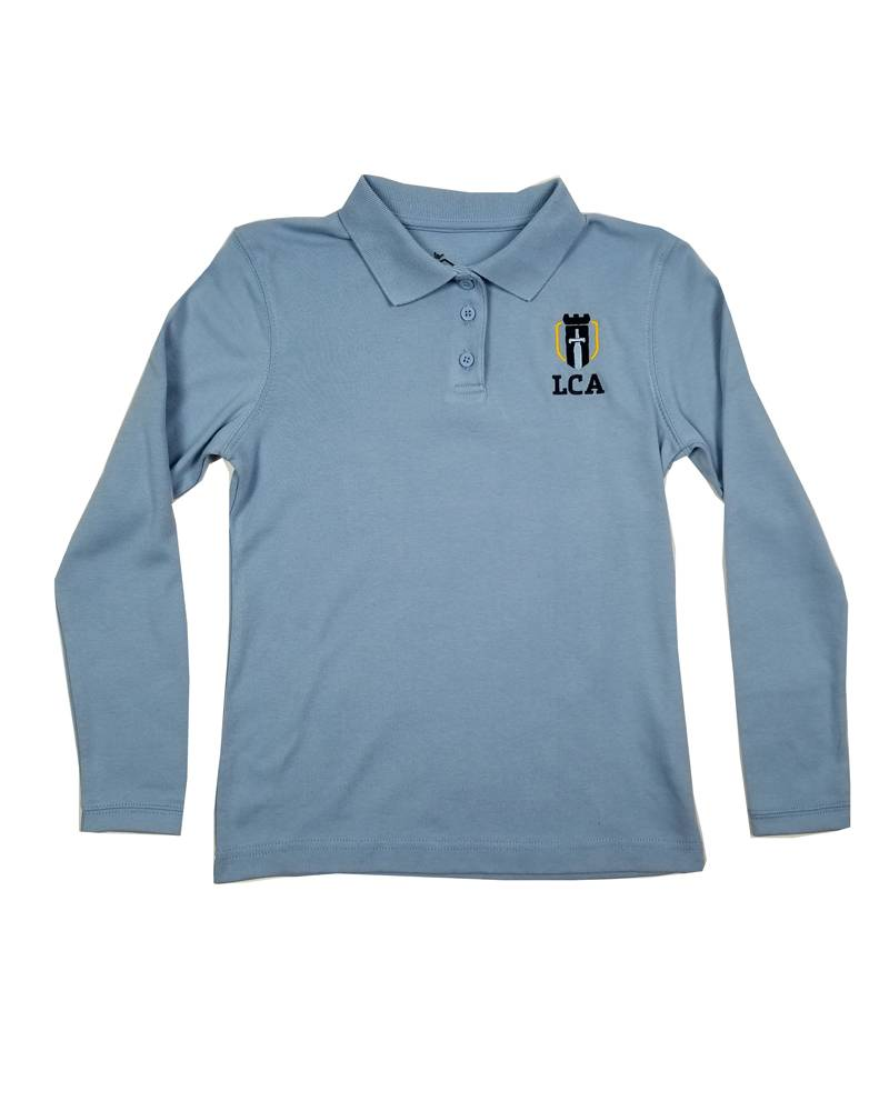 Classroom Uniforms LEGACY CHRISTIAN GIRLS LS POLO SHIRT
