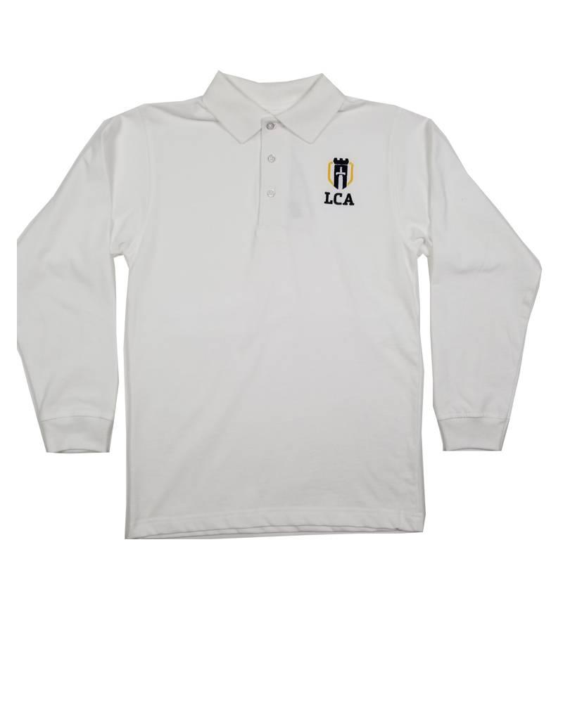 Classroom Uniforms LEGACY CHRISTIAN LS POLO SHIRT
