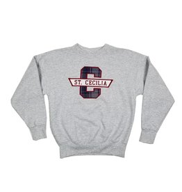 School Apparel, Inc. ST. CECILIA PLAID SWEATSHIRT