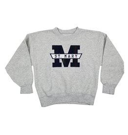 School Apparel, Inc. ST. MARY  55 PLAID SWEATSHIRT