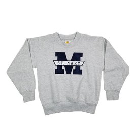 FRIDAYCREAT ST MARY SOLID NAVY SWEATSHIRT