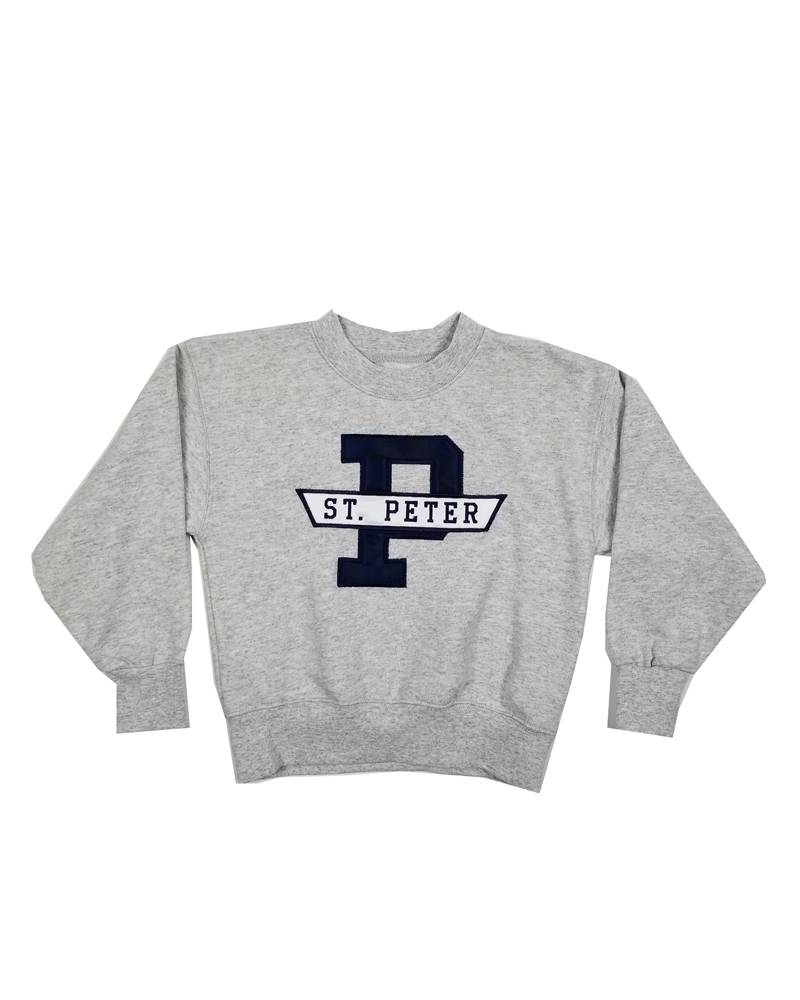 School Apparel, Inc. ST. PETER  SOLID SWEATSHIRT