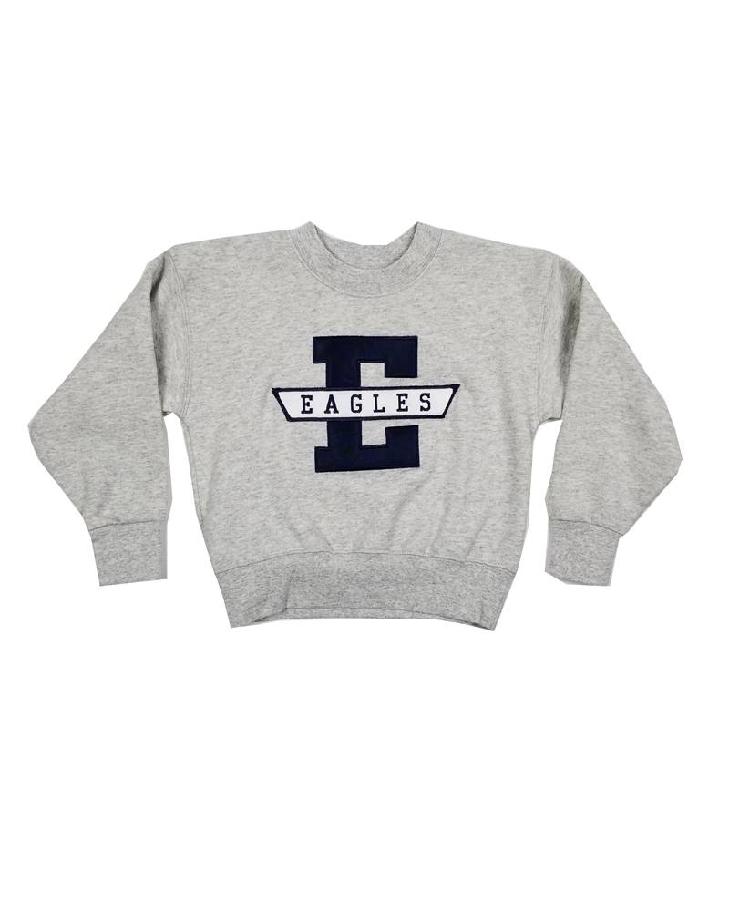 School Apparel, Inc. EAST DAYTON CHRISTIAN SOLID SWEATSHIRT