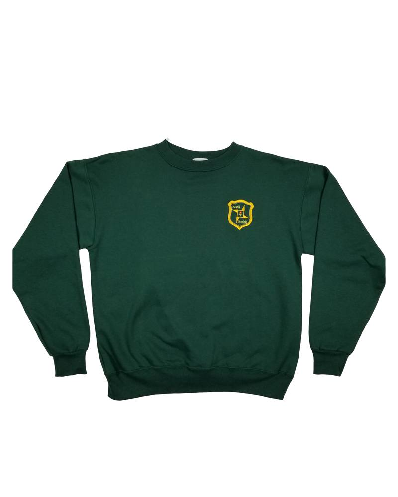 School Apparel, Inc. ST. BRIGID SWEATSHIRT W/CREST