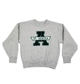 School Apparel, Inc. ST. AGATHA PLAID SWEATSHIRT