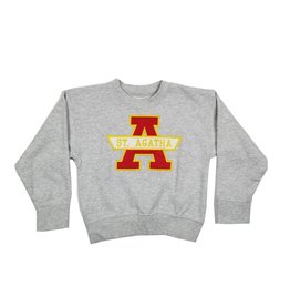 School Apparel, Inc. ST. AGATHA  SOLID SWEATSHIRT