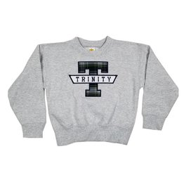 School Apparel, Inc. TRINITY  PLAID SWEATSHIRT