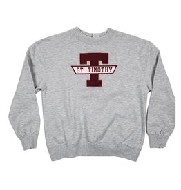 School Apparel, Inc. ST. TIMOTHY SOLID SWEATSHIRT