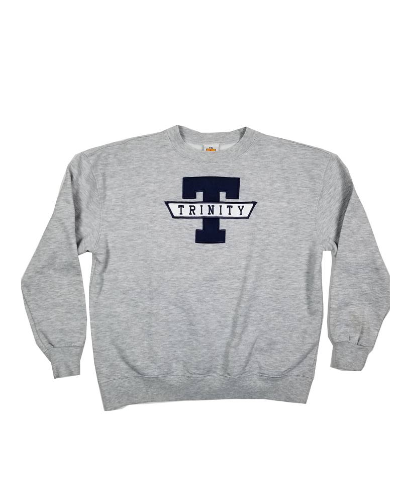 School Apparel, Inc. TRINITY  SOLID SWEATSHIRT