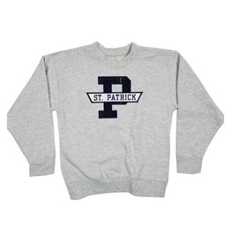 School Apparel, Inc. ST. PATRICK  PLAID SWEATSHIRT