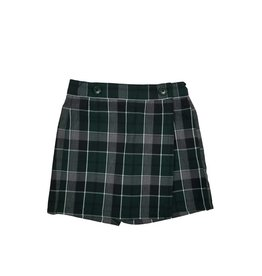 Wrap Front Skort Plaid 75
