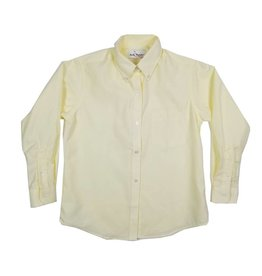 Elder Manufacturing Co. Inc. GIRLS/LADIES LS YELLOW OXFORD BLOUSE