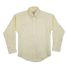 Elder Manufacturing Co. Inc. BOYS/MENS LS YELLOW OXFORD SHIRT