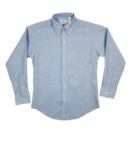 Elder Manufacturing Co. Inc. BOYS/MENS LS LT BLUE OXFORD SHIRT