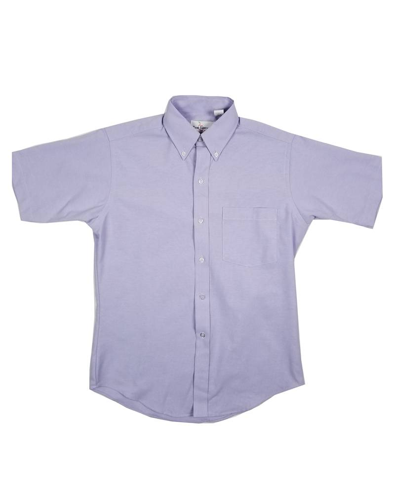 Elder Manufacturing Co. Inc. Boys/Mens SS Purple Oxfords