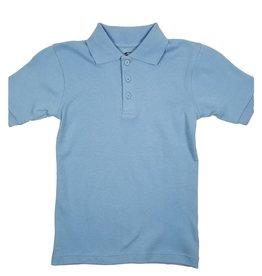 Classroom Uniforms CLASSROOM SHORT SLEEVE POLO LT BLUE