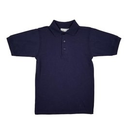 Elder Manufacturing Co. Inc. SHORT SLEEVE JERSEY KNIT SHIRT NAVY