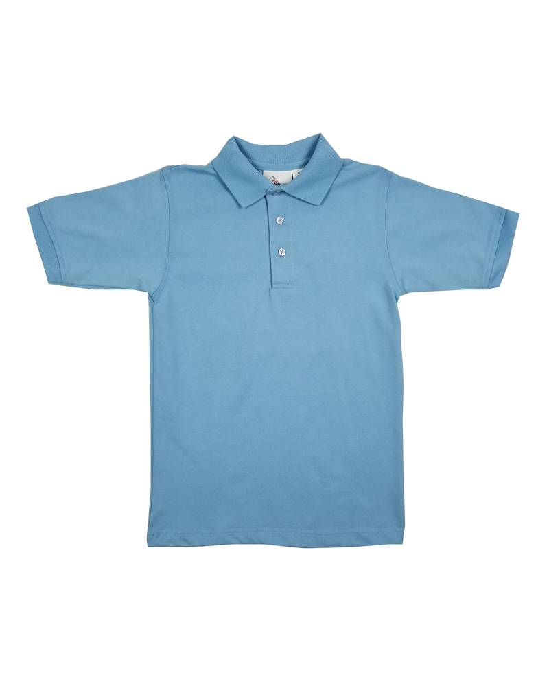 Elder Manufacturing Co. Inc. SHORT SLEEVE JERSEY KNIT SHIRT LT BLUE