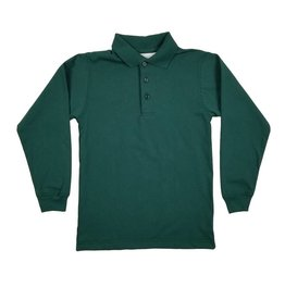 Elder Manufacturing Co. Inc. LONG SLEEVE  JERSEY KNIT SHIRT GREEN