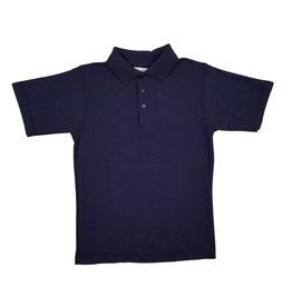 Elder Manufacturing Co. Inc. SHORT SLEEVE PIQUE KNIT SHIRT NAVY