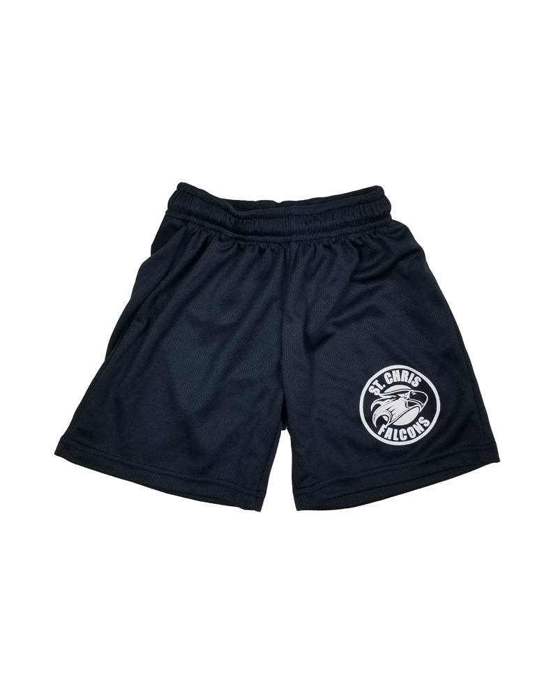 POWELL PRINT ST. CHRISTOPHER MESH GYM SHORTS