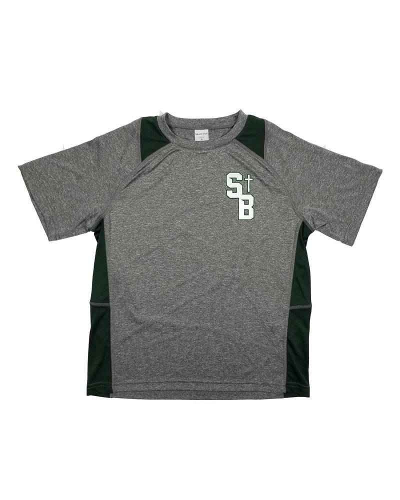 POWELL PRINT ST. BRENDAN DRY FIT GYM T-SHIRT