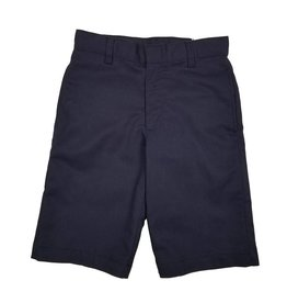 Elder Manufacturing Co. Inc. BOYS/MENS FLAT FRONT SHORTS NAVY