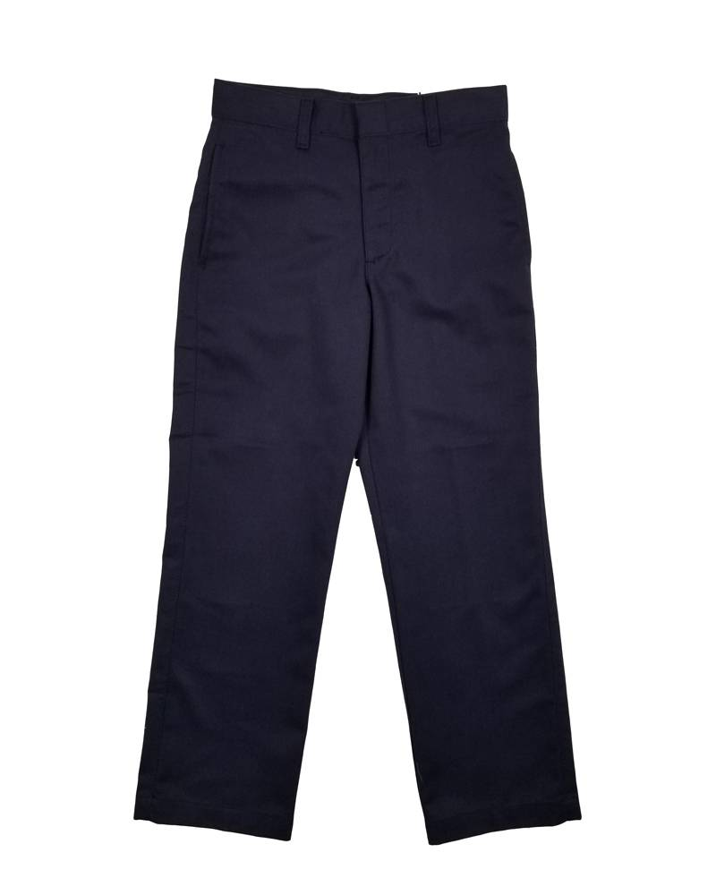 Elder Manufacturing Co. Inc. BOY/MENS FLAT FRONT PANTS NAVY