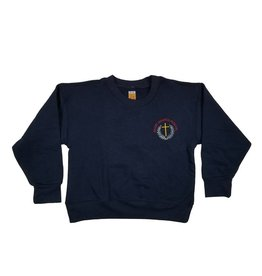 School Apparel, Inc. ST. AGATHA SWEATSHIRT WITH CREST