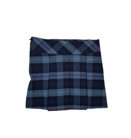 SKIRT WITH BIKE SHORT PLAID 41