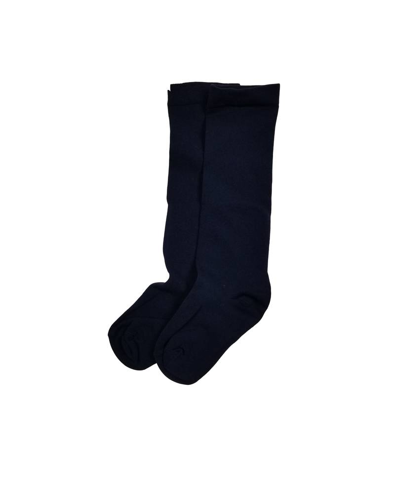 OPAQUE KNEE-HI SOCKS NAVY