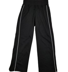Charles River Apparel GIRLS/LADIES OLYMPIAN GYM SWEATPANT  PANT BLACK