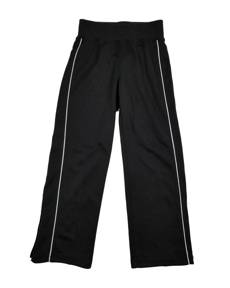 Charles River Apparel GIRLS/LADIES OLYMPIAN GYM SWEATPANT  PANT BLACK