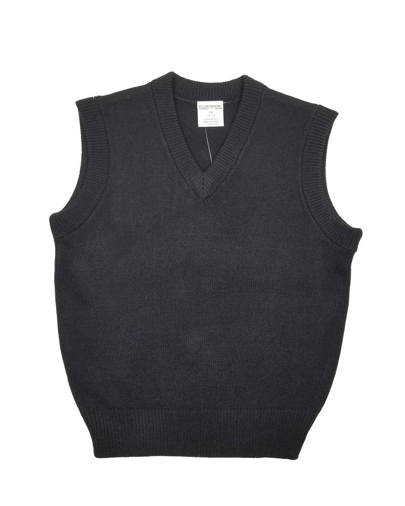 Elder Manufacturing Co. Inc. V/NECK SWEATER VEST NAVY D